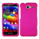 For Motorola Electrify M Phone Case Hot Pink Hard Cover +Screen Protector XT901