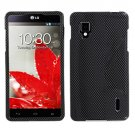 Phone Case For LG Optimus G Carbon Fiber Hard Cover ( Sprint / LS970 )