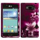 Phone case For LG Spendor US730 / Venice 730 Hard Case L-Flower Phone Cover