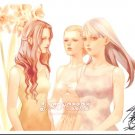Signed Original Print no. 1 (Girls in Sundresses)