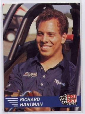 1991 Pro Set NHRA Richard Hartman Racing Card #24 (CK0075)