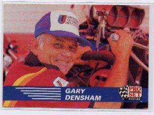 1991 Pro Set NHRA Gary Densham Racing Card #113 (CK0075)