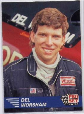 1991 Pro Set NHRA Del Worsham Racing Card #122 (CK0075)