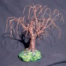 Rusted Willow No. 2  Wire Tree Sculpture