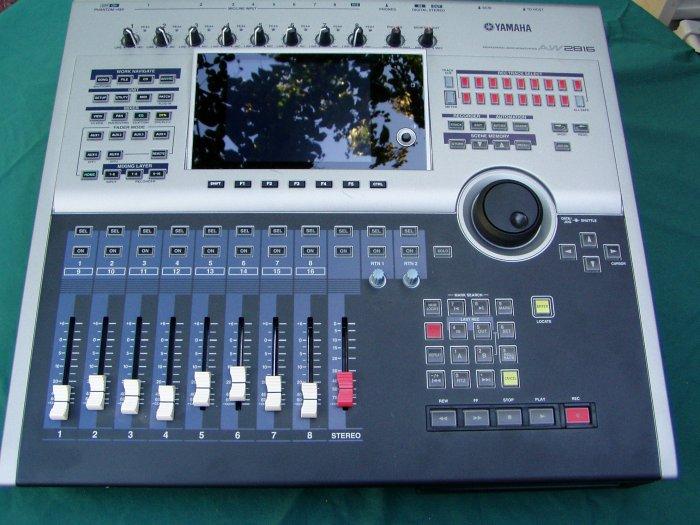 Yamaha AW2816 Hard Disck Recorder