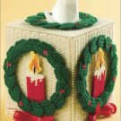 Christmas Candle Tissue Topper