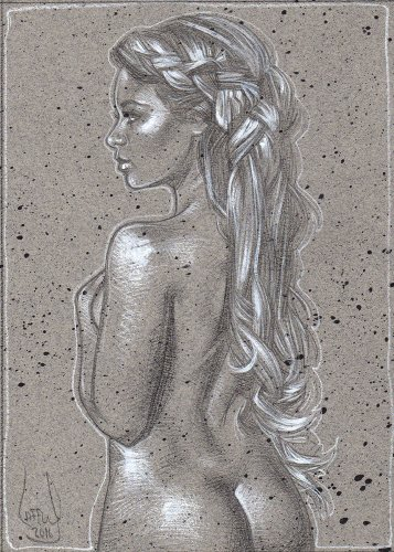 Divine - Nude, LE Signed Print