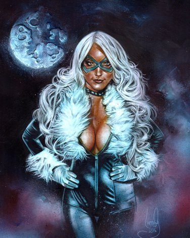 Black Cat - Limited Edition Art Print