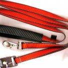 Lupine 6ft. Lead Red/black trim