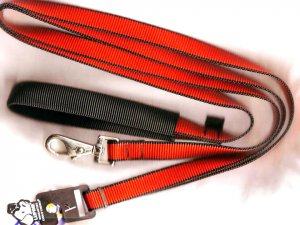 Lupine 6ft. Lead Red/black trim
