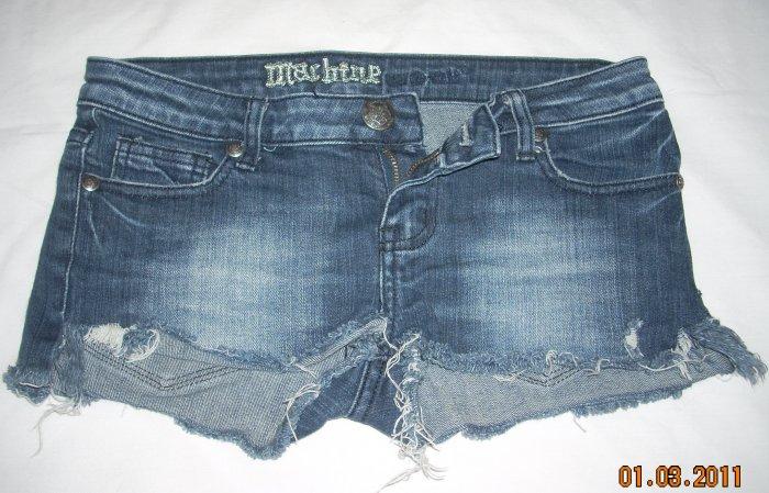 Teen/Girls Blue Jean Shorts by Machine