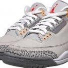 Jordan Retro 3 silver/Red/Lght/Grpt