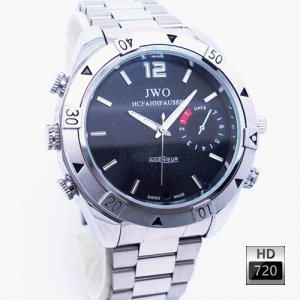 Ultimate Stainless DVR Watch HD Camcorder * TV or PC Playback