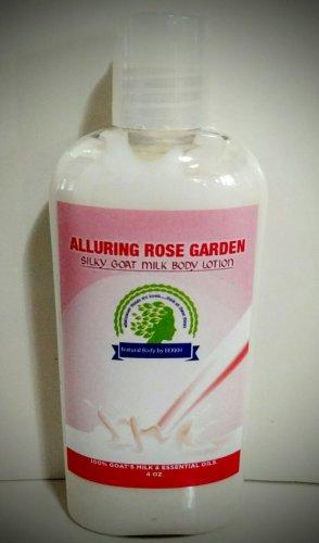 Silky Goat Milk Body Lotion 4 OZ Alluring Rose Garden