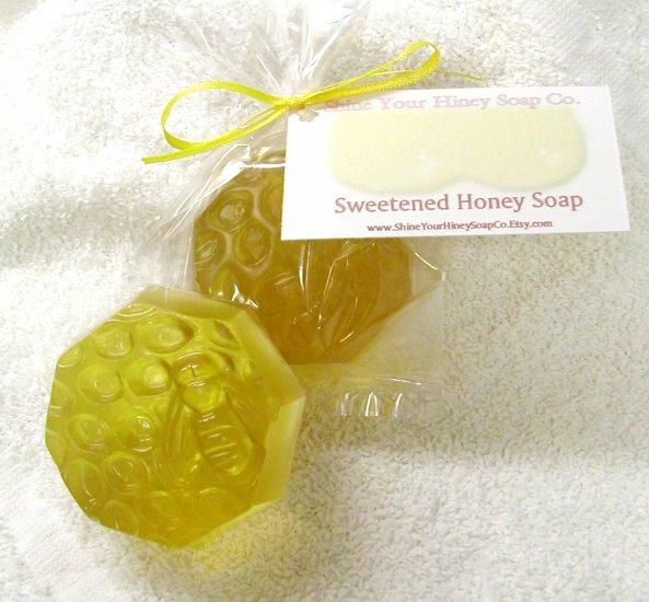 Sweetened Honey Glycerin MP Soap Shine Your Hiney