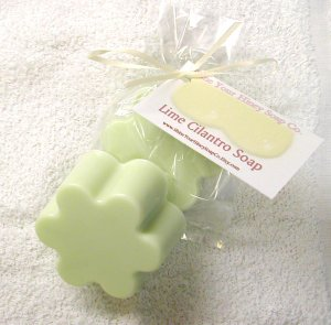 South of the Border Lime and Cilantro MP Glycerin soap Shine Your Hiney