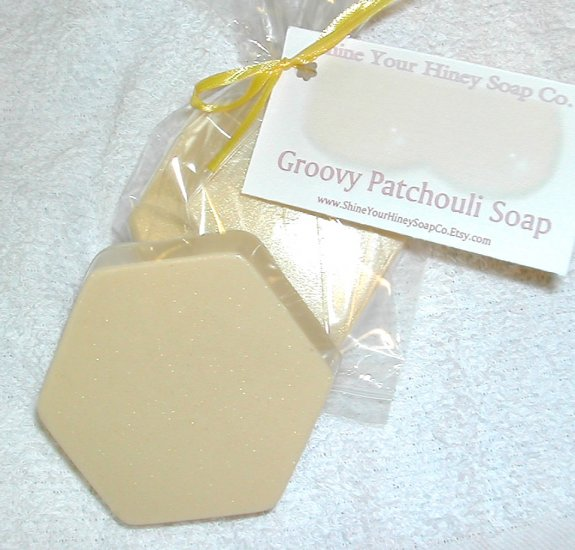 Groovy Patchouli Glycerin MP Soap Shine Your Hiney