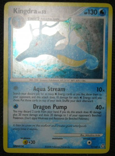 Pokemon Card Kingdra Legends Awakened CLEARANCE