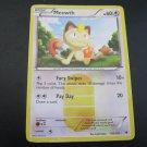 Pokemon Card Meowth Noble Victories Secret Rare