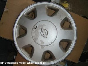 s14 240sx oem 1 base model hub cap
