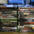 XBOX AND PS2 GAMES LOT