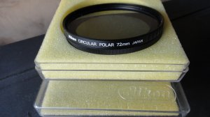 NIKON 72MM POLARIZER