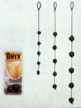 SE1225-03- Large - Onyx Love Beads