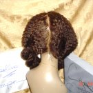 """1 LEFT 12"""", #4, sz. M, Kinky curly Lace Front Wig , """"Dominion"""""""
