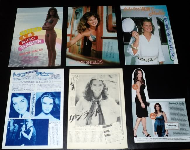 Brooke Shields clippings #7 + Sylvester Stallone FINAL