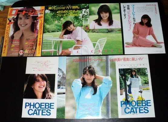 Phoebe Cates clippings pack #2 Japan 80s FINAL SALE!