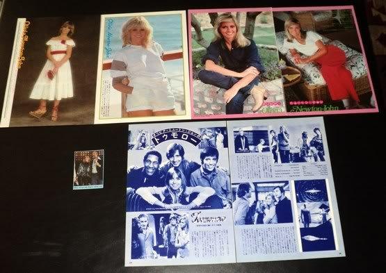Olivia Newton-John clippings pack Japan 80s FINAL SALE!