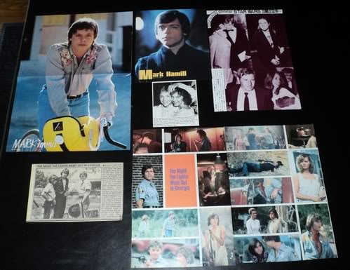 Mark Hamill clippings pack Star Wars FINAL SALE!