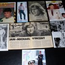 Jan-Michael Vincent clippings USA 70s Japan 80s FINAL