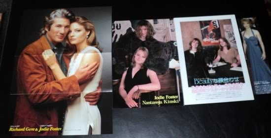 Jodie Foster clippings pack #3 + Richard Gere FINALSALE