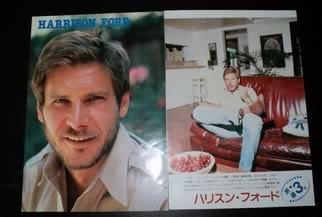 Harrison Ford clippings Phoebe Cates Tatum O'Neal Japan