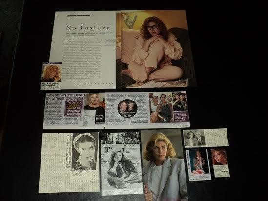 Kelly McGillis clippings pack 80s Japan tabloid