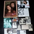 Michael Sarrazin clippings 70s Japan+ Jacqueline Bisset