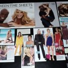 Heidi Klum clippings pack + Seal