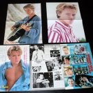 River Phoenix clippings pack centerfolds Japan 1987
