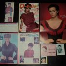 Sheena Easton clippings pack + centerfold Japan 1980s