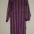 Shalwar Kameez - Purple and Yellow Cotton