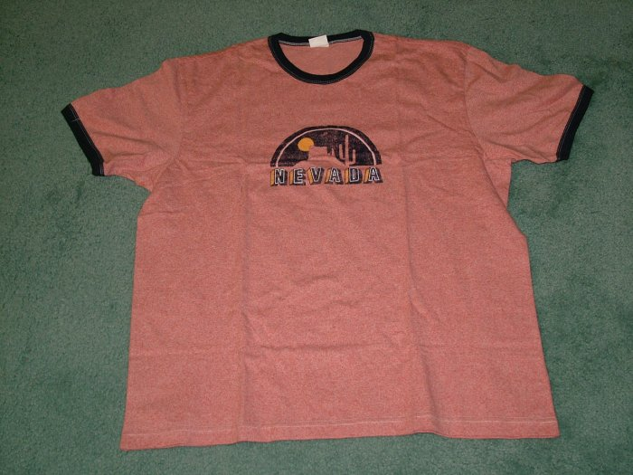 Men - T-Shirt Half Sleeve Orange