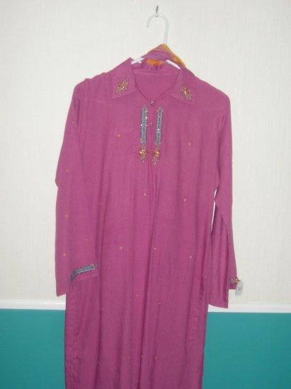 Shalwar Kameez - Pink Cotton