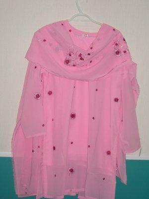Shalwar Kameez - Light Pink Georgette