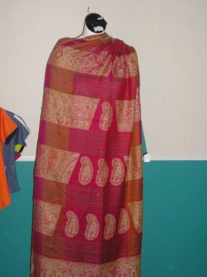 Pink Woolen Shawl