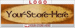Burnt Wood Paper Old-Fashioned eCRATER Store Y-S-H LOGO
