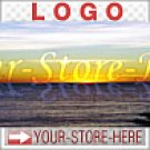 Seascape Sunset Water Shining Reflection eCRATER Store Y-S-H LOGO