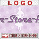 Fifties Women Purple Polka Dots eCRATER Store Y-S-H LOGO