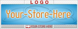 Professional Blue Orange Biz Ring eCRATER Store Y-S-H LOGO