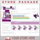 Boxy Purple with your ENHANCED PRODUCT IMAGE - Custom Y-S-H eCRATER Store Package